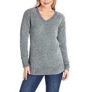 NWT ORVIS Chenille V-Neck Pullover Sweater